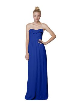 Joanna August Whitney Long Skirt Bridesmaid Dress   Weddington Way $130