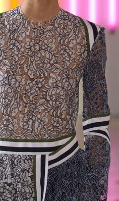 patternprints journal: PRINTS, PATTERNS AND SURFACES FROM LONDON FASHION WEEK (WOMAN COLLECTIONS SPRING/SUMMER 2015) /  Preen by Thornton Bregazzi