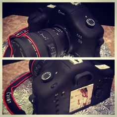 Canon Camera Cake  Maybe THIS for my birthday... :D