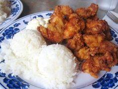 Korean Style Mochiko Chicken Asian Recipes, New Recipes, Cooking Recipes, Favorite Recipes, Ethnic Recipes, Hawaiian Recipes, Korean Dishes, Korean Food, Recipes