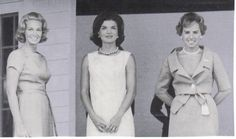Jacqueline Kennedy Onassis - Page 50 - the Fashion Spot The Kennedy women, Joan, Jackie and Ethel: