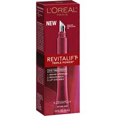 L'Oreal Paris Revitalift Triple Power Eye Treatment. You need this in your life.