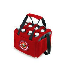 Red NCAA Louisiana Ragin Cajuns Tahoe Extra Large Insulated Cooler Tote