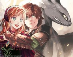 Hiccanna. Hiccup and Anna. From Google Search.