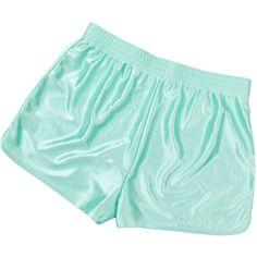 monki satin shorst featuring polyvore, women's fashion, clothing, shorts, bottoms, satin shorts and monki