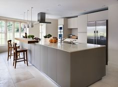 Sympathetic addition to a Cotswold-stone family home bulthaup by Kitchen architecture #kitchens