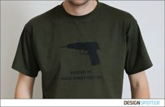Weapon of Mass Construction T-Shirt