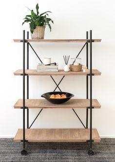 4 Tier Shelf, Shelves, Interiors, Home Decor, Shelving, Decoration Home, Room Decor, Shelving Units, Decor
