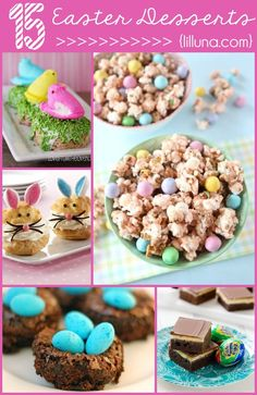 15 YUMMY Easter Dessert Ideas on { lilluna.com } #easter