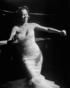 Dorothy Dandridge Dancing on a Night Club Dance Floor  December 1951  LIFE magazine
