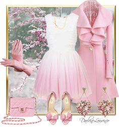 I know its super girly but sometimes I can't help it!! Love it all but would probably wear each piece separately anyways lol