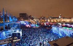 Montrealers know how to have fun!  Igloofest: Montreals Wildest Winter Party