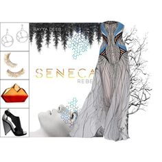 Book Look: Seneca Rebel By Rayya Deeb by xmikky on Polyvore featuring Balenciaga, Rauwolf and Versace