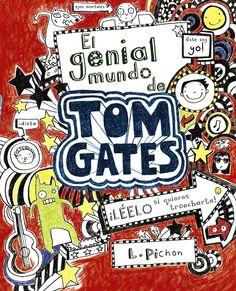 """I-N-HU PIC tom(1) / verde. A serie"""" TOM GATES"""" ten sido galardoada co premio Roald Dahl 2011 ao libro máis divertido e co Rede House Children' s Book Award 2012. """""""