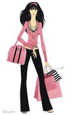 Svetlana Makarova. Lanitta. Shopping