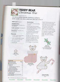 TEDDY BEAR CHRISTMAS TRIO 1