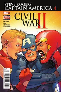 Preview: Captain America: Steve Rogers #4, Story: Nick Spencer Art: Javier Pina…