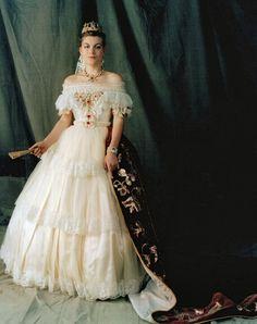 victorian wedding dress style