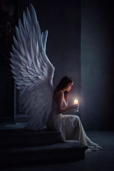An angel for my new love - # for # love - Zeichnen - Zeichnungen Angel Images, Angel Pictures, Beautiful Angels Pictures, Fairy Pictures, Moon Pictures, Fantasy Girl, Dark Fantasy, Fantasy Town, Fantasy Queen