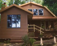1000 images about metal siding ideas on pinterest steel for Fake log siding for homes