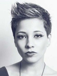 Or should I go with this one?  Short Pixie Hairstyles 2014 – 2015