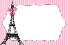 Paris Invitation Template Free Lovely Paris Invitations and Free Party Printables Paris Party, Paris Birthday Parties, Paris Theme, Party Printables, Printable Baby Shower Invitations, Birthday Party Invitations, Birthday Party Themes, Spa Birthday, Thema Paris