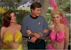Watched my fair share of Star Trek...hey now...be nice... we only had 4 channels to choose from!