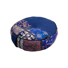 For those with a more relaxed, boho-inspired lifestyle, this blue cushion will soon be your favorite companion. With hand-stitched fabric and a durable side handle for easy carrying, it's perfect for y...  Find the Harmonious Balance Cushion in Blue, as seen in the The Silk Route Collection at http://dotandbo.com/collections/the-silk-route?utm_source=pinterest&utm_medium=organic&db_sku=MDC0005-blu