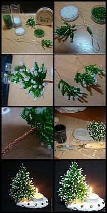 - DIY Jewelry Crafts Ideen Source by You may believe that the history of handcr Beaded Christmas Ornaments, Diy Christmas Ornaments, Christmas Projects, Holiday Crafts, Christmas Holidays, Christmas Wreaths, Christmas Decorations, Beaded Crafts, Diy Crafts Jewelry