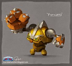 "Skylanders ""Scrap Shooter"" and ""Fisticuffs!"" -Jeff Murchie"