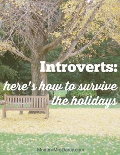 As much as you enjoy the holidays, they're still emotionally taxing, especially for introverts. These quick insights will help you enjoy the holidays more by understanding how to manage your energy better. Your family will thank you!
