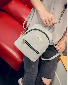Fashion Women Casual Bags Mini Backpacks School Bags B10 0482ba2f6ec33