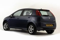 Photographic Print 2008 Fiat Punto 12x8in