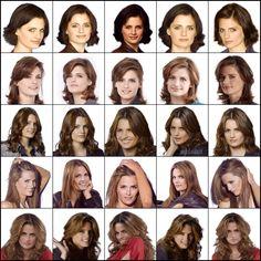 Kate Beckett hair season 3 | Kate Beckett/Stana Katic, Seasons 1 - 5