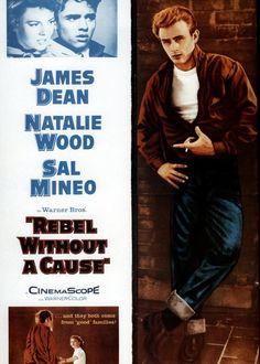 Rebelde sin causa - Nicholas Ray, 1955 (US) Para muchos críticos la primera gran historia gay de la historia del cine. La implacable censura de la época no permitió ahondar más en el tema de la homosexualidad, pero aún así se puede entrever claramente el amor que sentía el solitario y marginado personaje interpretado por Sal Mineo hacia el de James Dean. Sal Mineo fue uno de los primeros actores de Hollywood en reconocer públicamente su homosexualidad. Fue asesinado en 1937 cuando sólo tenía…