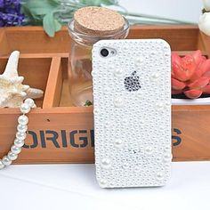 Noble Fashion with Pearl Case Cover for iPhone 6 Plus / iPhone 6 - Cute iPhone 6 Cases - iPhone 6/6s Cases - iPhone Cases