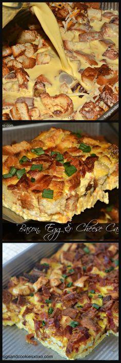 bacon egg cheese casserole