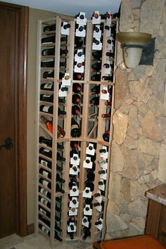 Custom wine racks