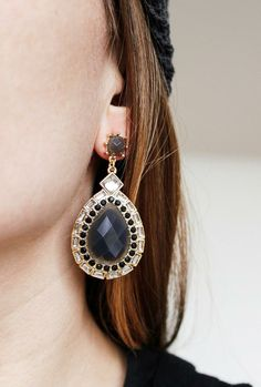 The perfect statement jewel earrings <3 $17.85