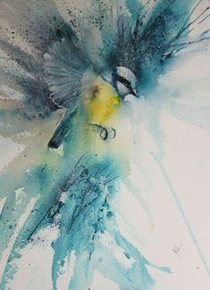 The Magic of Watercolour Painting' virtual art gallery by Jean Haines, Artist - browse and buy watercolor paintings online including landscapes, portraits, animals and action galleries Watercolor Art Paintings, Watercolor Animals, Abstract Watercolor, Painting & Drawing, Watercolours, Watercolor Artists, Paintings Of Birds, Magical Paintings, Watercolor Trees