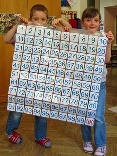 Ein Blog mit Gratisdownloads von Lernmaterialien und Montessori-Zusatzmaterialien Math For Kids, Fun Math, Math Games, Montessori Materials, Montessori Activities, Primary Education, Elementary Education, Kindergarten Math, Teaching Math