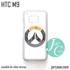 Overwatch Logo with pic Phone Case for HTC One M9 case and other HTC Devices