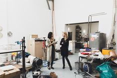We visited Alicja Kwade at her studio where we chatted about her mind-bending sculptures. More on ignant.de...