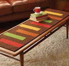 Autumn Palette Table Runner Kit LQK16126
