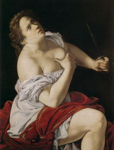 Artemisia Gentileschi - Lucretia www.transitionresearchfoundation.com