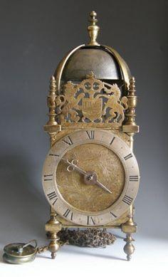 Unsigned Lantern Clock attributed to Thomas Browne,  circa Prior 1660