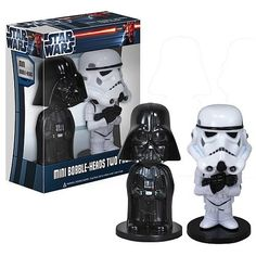 Star Wars Mini Bobblehead Two Pack (Vader/Stormtrooper)