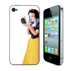 Snow White White backing  Apple iPhone 4/ 4S Full by NoisyBoyStore, $10.99