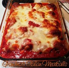 Italian Meatballs - Mom's Kitchen Pantry
