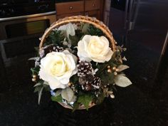 White Christmas II ................. Christmas Collection 2013 ........ Krista's Floral Creations